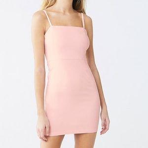 Forever 21 Light Pink Bodycon Mini Dress